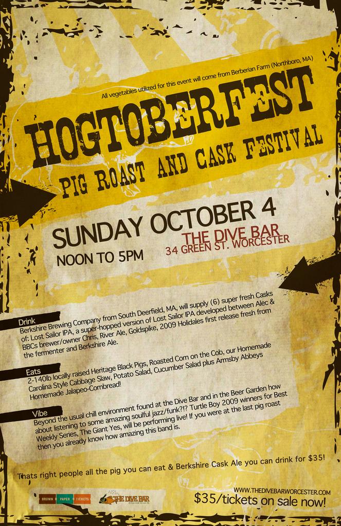 Hogtoberfest Poster