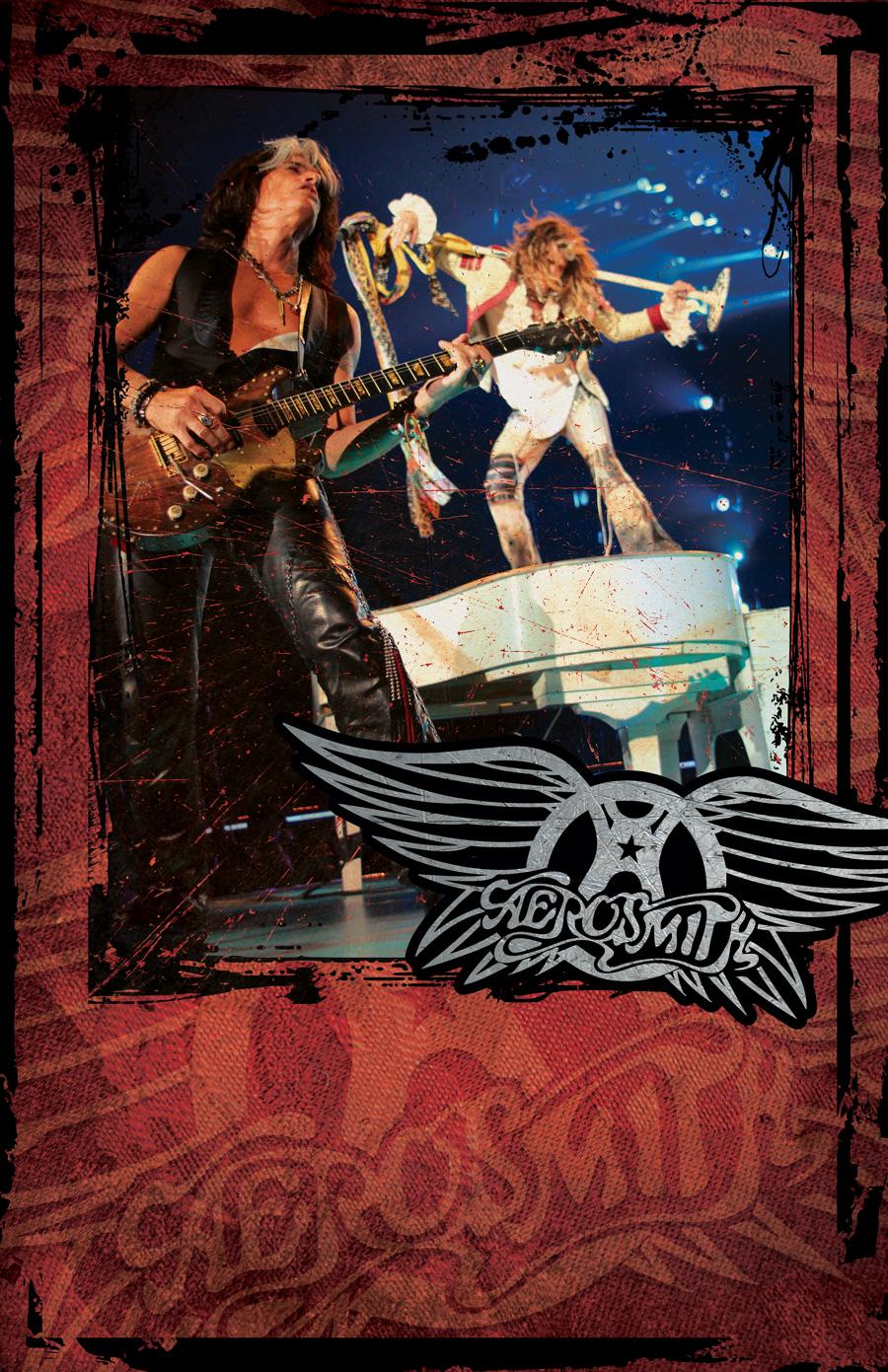 Aerosmith Autograph Poster