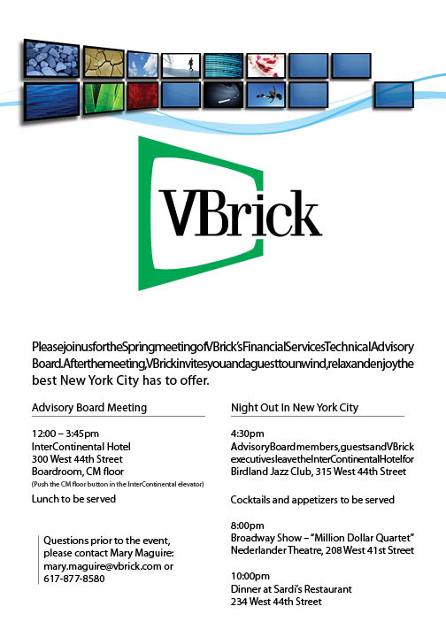 VBrick Invitation