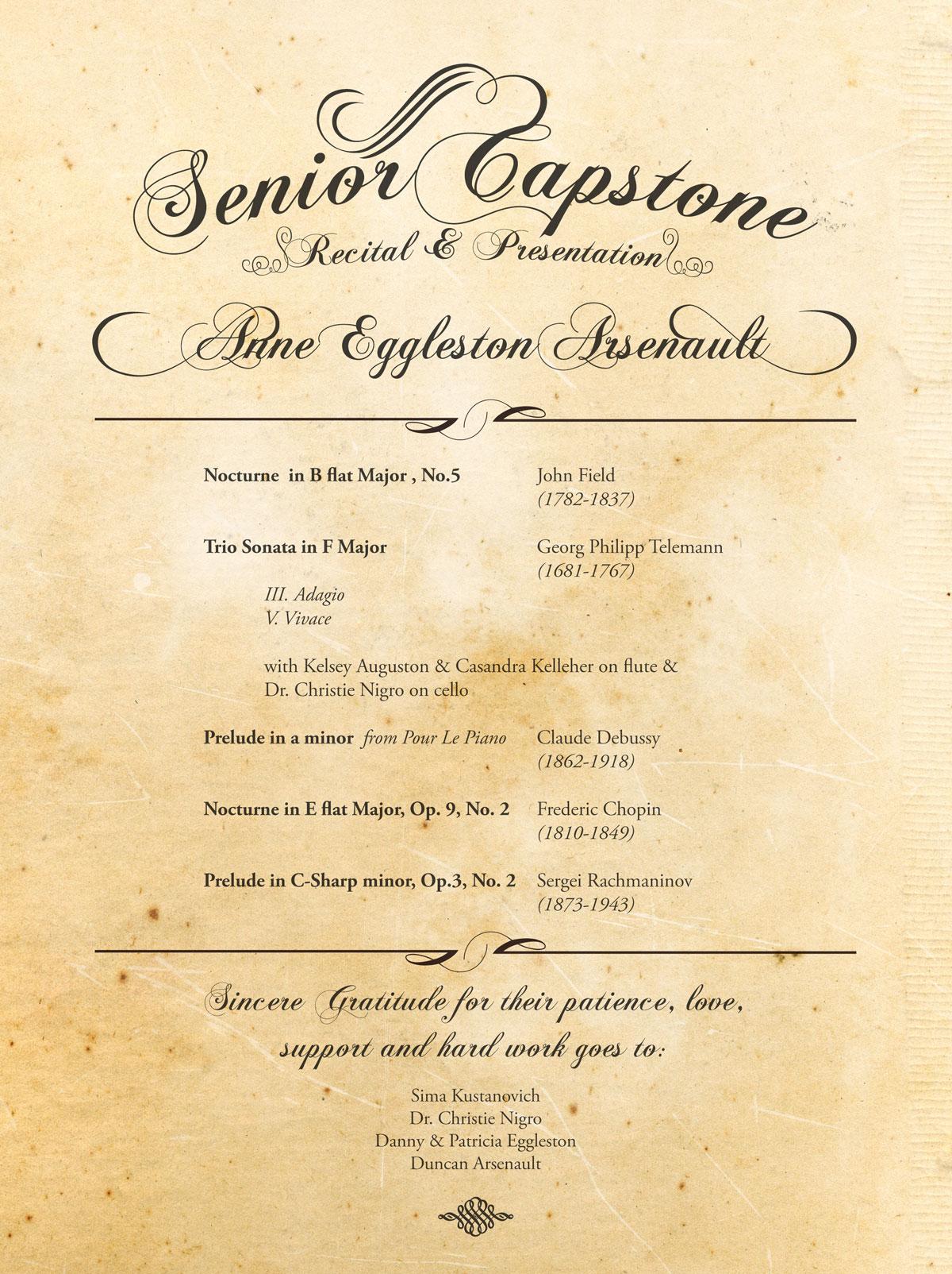 Capstone Program